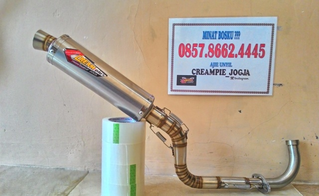Knalpot Matik vario scoopy, mio j, knalpot racing mio bore up